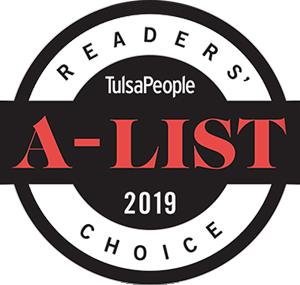 2018 A List Reader's Choice badge air conditioning